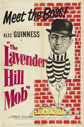 The Lavender Hill Mob - Movie Poster (thumbnail)