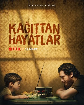 Kagittan Hayatlar - Turkish Movie Poster (thumbnail)
