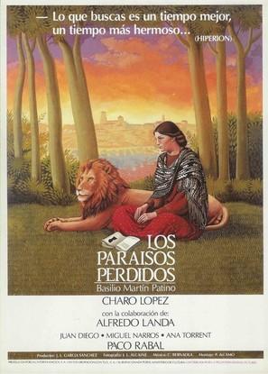 Paraísos perdidos, Los - Spanish Movie Poster (thumbnail)