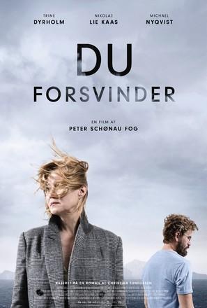 Du forsvinder - Danish Movie Poster (thumbnail)