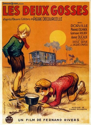 Les deux gosses - French Movie Poster (thumbnail)