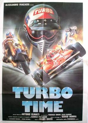 Turbo time - Italian Movie Poster (thumbnail)