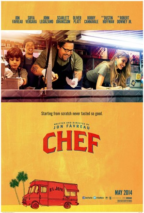 Chef - Movie Poster (thumbnail)