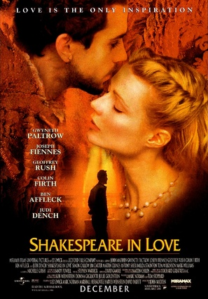 Shakespeare In Love - Advance movie poster (thumbnail)