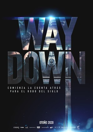 Way Down - Spanish Movie Poster (thumbnail)