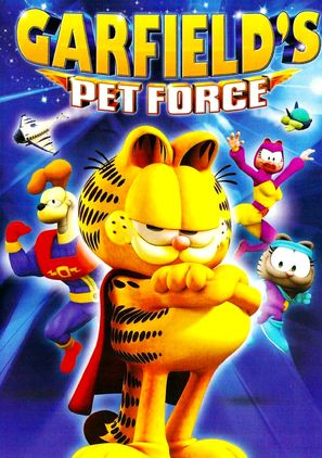 Garfield's Pet Force - DVD cover (thumbnail)
