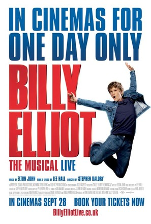 Billy Elliot the Musical - British Movie Poster (thumbnail)
