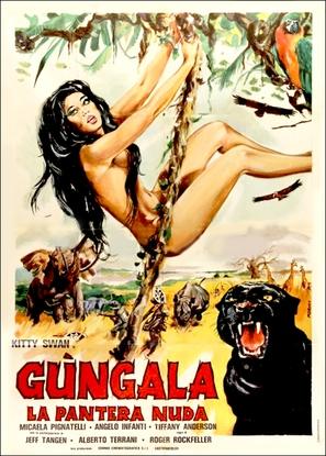 Gungala la pantera nuda - Italian Movie Poster (thumbnail)