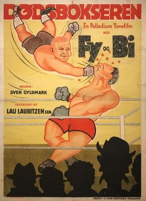 Dødsbokseren - Danish Movie Poster (thumbnail)