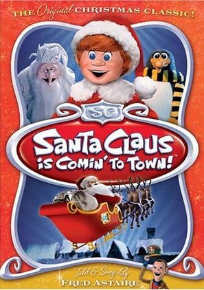 Santa Claus Is Comin' to Town - DVD movie cover (thumbnail)