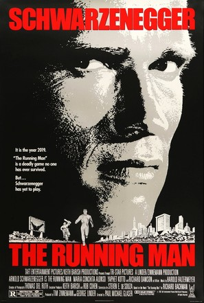 The Running Man - Movie Poster (thumbnail)