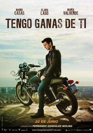 Tengo ganas de ti - Spanish Movie Poster (thumbnail)