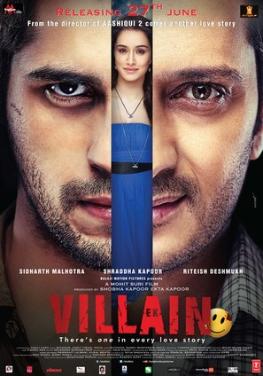 Ek Villain - Indian Movie Poster (thumbnail)