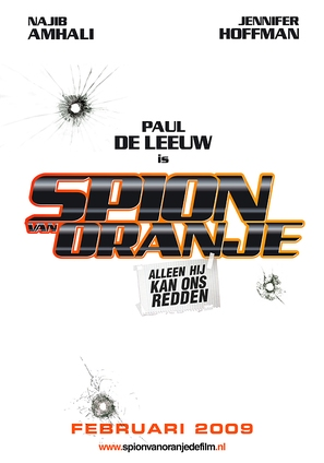 Spion van Oranje - Dutch Movie Poster (thumbnail)