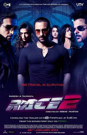Race 2 - Indian Movie Poster (thumbnail)