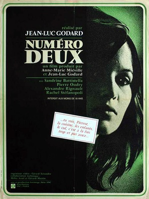 Numèro deux - French Movie Poster (thumbnail)