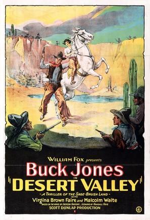 Desert Valley - Movie Poster (thumbnail)