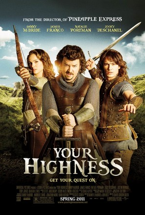 Your Highness - Movie Poster (thumbnail)
