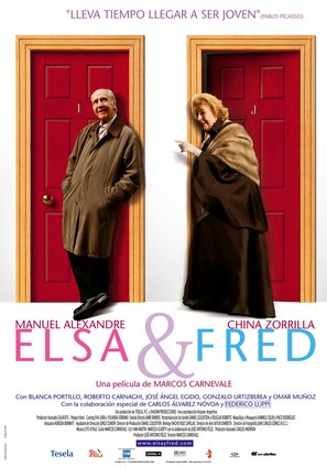 Elsa y Fred - Spanish Movie Poster (thumbnail)