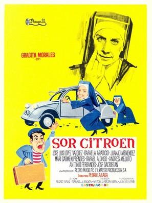 Sor Citroen - Spanish Movie Poster (thumbnail)