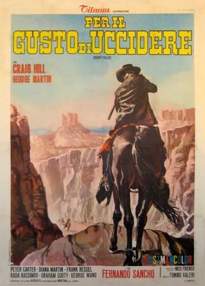 Per il gusto di uccidere - Italian Movie Poster (thumbnail)