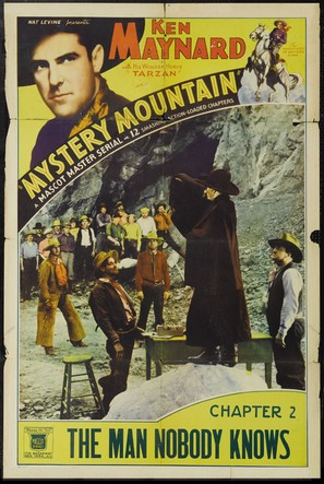 Mystery Mountain - Movie Poster (thumbnail)