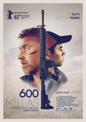 600 Millas - Mexican Movie Poster (thumbnail)