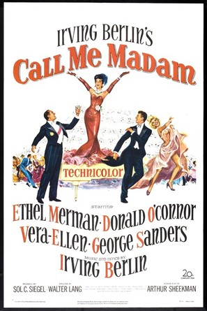 Call Me Madam - Movie Poster (thumbnail)