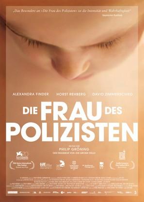 Die Frau des Polizisten - German Movie Poster (thumbnail)