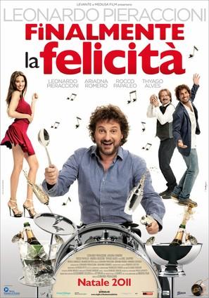 Finalmente la felicità - Italian Movie Poster (thumbnail)
