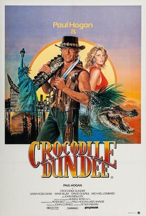 Crocodile Dundee - Australian Movie Poster (thumbnail)