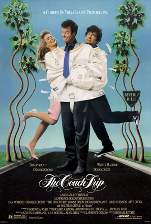 The Couch Trip - Theatrical movie poster (thumbnail)