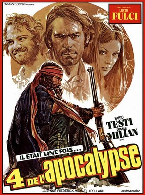 Quattro dell'apocalisse, I - French Movie Poster (thumbnail)