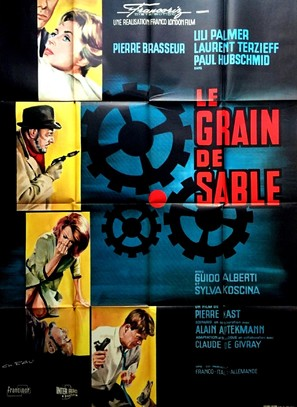 Le grain de sable - French Movie Poster (thumbnail)