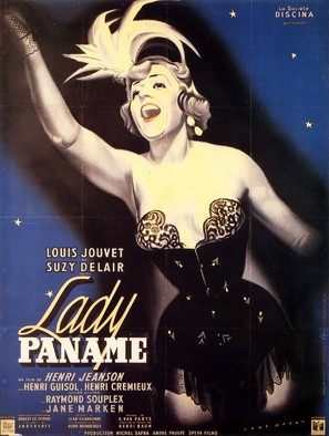 Lady Paname - French Movie Poster (thumbnail)