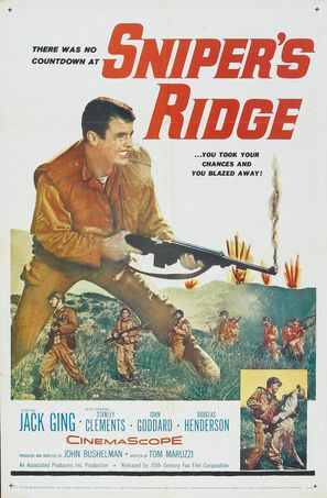 Sniper's Ridge - Movie Poster (thumbnail)