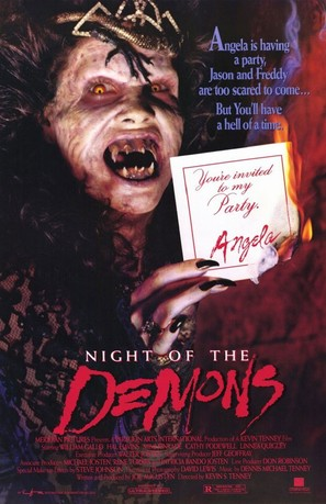 Night of the Demons - Movie Poster (thumbnail)