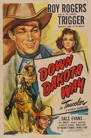 Down Dakota Way - Movie Poster (thumbnail)