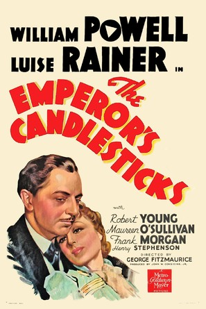 The Emperor's Candlesticks - Movie Poster (thumbnail)