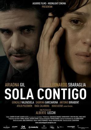 Sola contigo - Spanish Movie Poster (thumbnail)