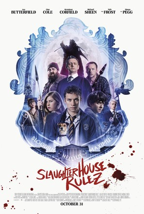 Slaughterhouse Rulez - British Movie Poster (thumbnail)