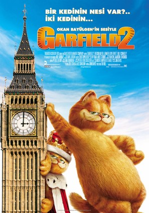Garfield: A Tail of Two Kitties - Turkish Movie Poster (thumbnail)