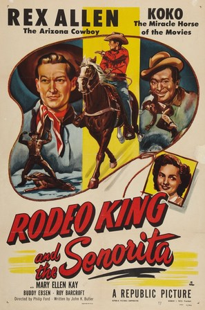 Rodeo King and the Senorita - Movie Poster (thumbnail)