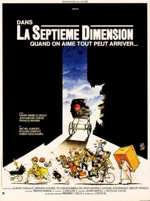 La septième dimension - French Movie Poster (thumbnail)