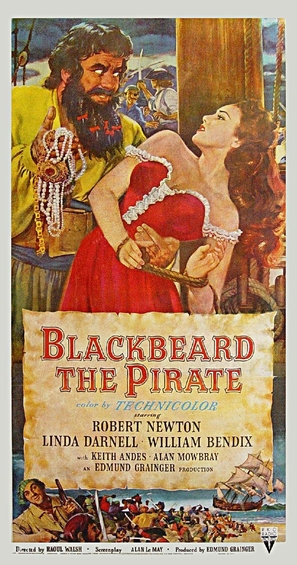 Blackbeard, the Pirate - Movie Poster (thumbnail)