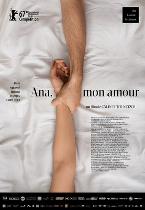 Ana, mon amour - Romanian Movie Poster (thumbnail)