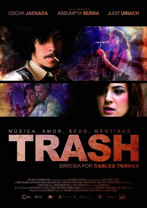 Trash - Spanish Movie Poster (thumbnail)