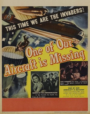 One of Our Aircraft Is Missing - Movie Poster (thumbnail)