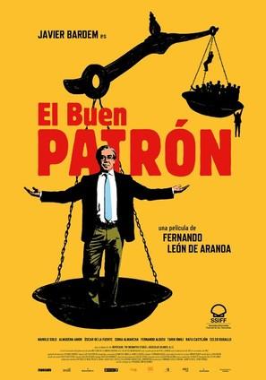 El buen patrón - Spanish Movie Poster (thumbnail)
