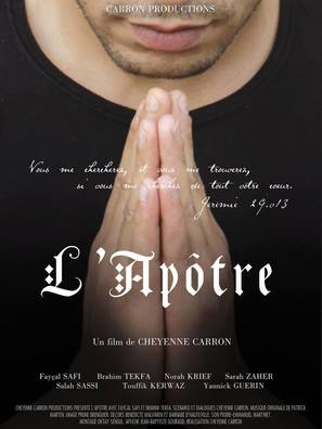 L'apôtre - French Movie Poster (thumbnail)